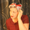 How to Tie a 1940s Rosie The Riveter Head scarf