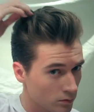 How To 50 S Hair For Men Tutorial 1940 S Hairstyles How To Glam