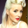 Complete Vintage Pinup Makeup and Hairstyle Makeover